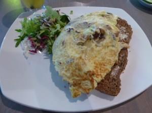 Stroming Heerhugowaard omelet met prei en champignons